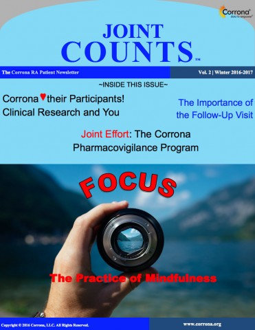 RA Patient Newsletter – Joint Counts – Vol 2 | Winter 2016-2017